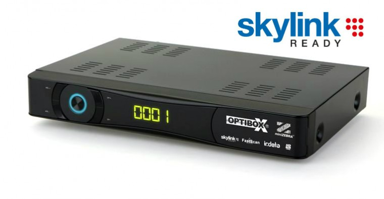 OPTIBOX ZEBRAmini Skylink ready